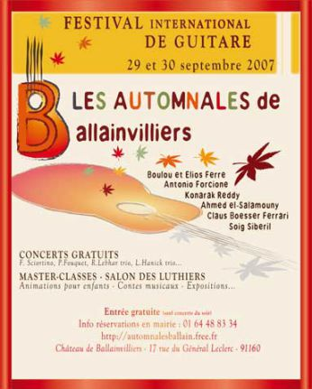 AUTOMNALES BALLAINVILLIERS 2007