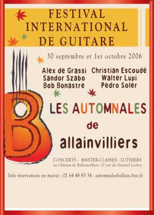 AUTOMNALES BALLAINVILLIERS 2006