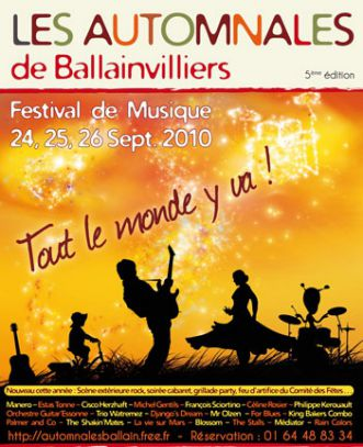 AUTOMNALES BALLAINVILLIERS 2010