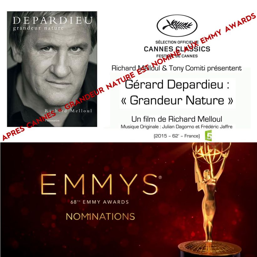 Gerard Depardieu Emmy Awards