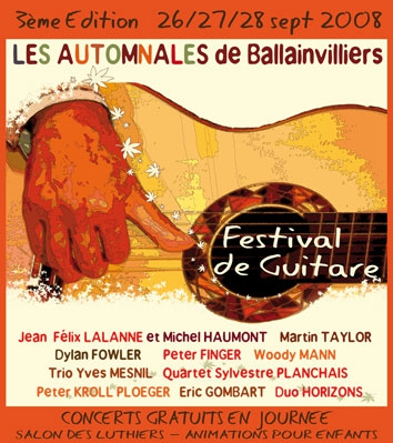 AUTOMNALES BALLAINVILLIERS 2008